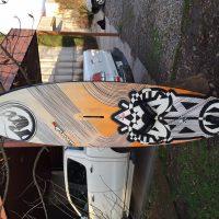 RRD Wave Cult quad fin 83 Lts.-